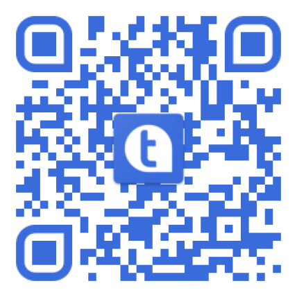 Scan QR code to install our app.